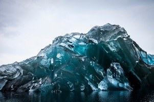 This Is What An Upside-Down Iceberg Looks Like