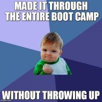 Boot camp Success!