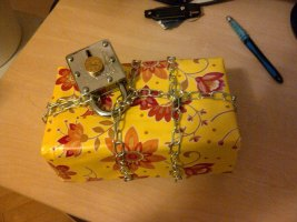 How This Guy Wrapped His Girlfriend's Gift Is Sadistically Brilliant. It Seems To Never End.