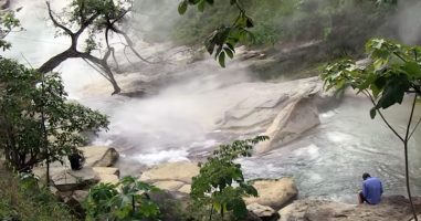 Deep In The Peruvian Rainforest Is A River Full Of Boiling Water
