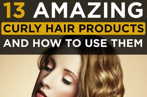 13 Amazing Products For Curly Hair And How To Use Them