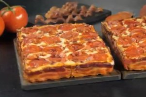 Little Caesars Introduced A Bacon-Wrapped Pizza Crust And People Are Freaking Out Over It