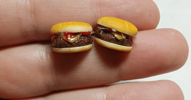 These Adorable Mini Food Sculptures Look Good Enough To Eat.