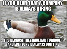 Job hunters beware!