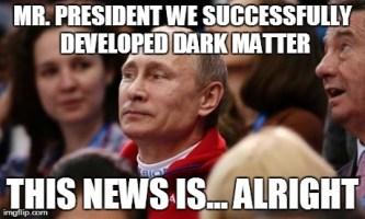 Mildly Impressed Putin