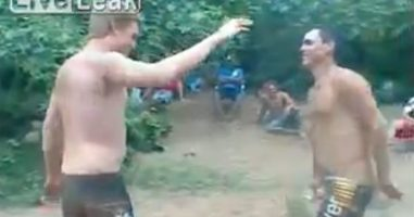 These Two Were Engaging In A Friendly Wrestling Match When Things Went Horribly Wrong