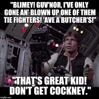 Cockney Skywalker