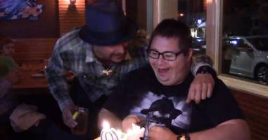 30-Year-Old Fan With Down Syndrome Surprised By Kid Rock On His Birthday.