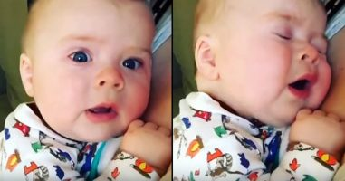 This Baby Saying 'Oh No' After Sneezing Is Too Cute And Precious To Handle