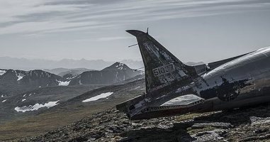 A Photographer Found A Way To Make Plane Crash Wreckage Much Less Terrible.