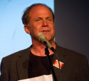 William Holtzman, former student of Howard Zinn and Zinn Education Project co-founder. Photo: Jack Gordon.