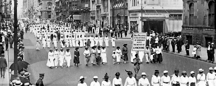 Harlem Silent Protest, 1917