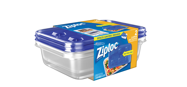 Ziplocr Containers Large Rectangle Ziplocr Brand Sc Johnson
