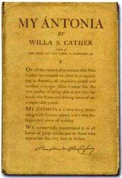 an analysis of the old wild west in the novel my antonia by willa cather Analysis of theme in willa cather  the captain who represented the pioneer spirit of the old west  the importance of the past in willa cather's my antonia.