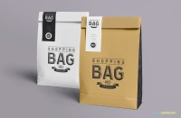 Free Awesome Paper Bag Mock Up | ZippyPixels