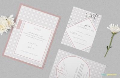 Wedding Invitation Mockup PSD Free   ZippyPixels