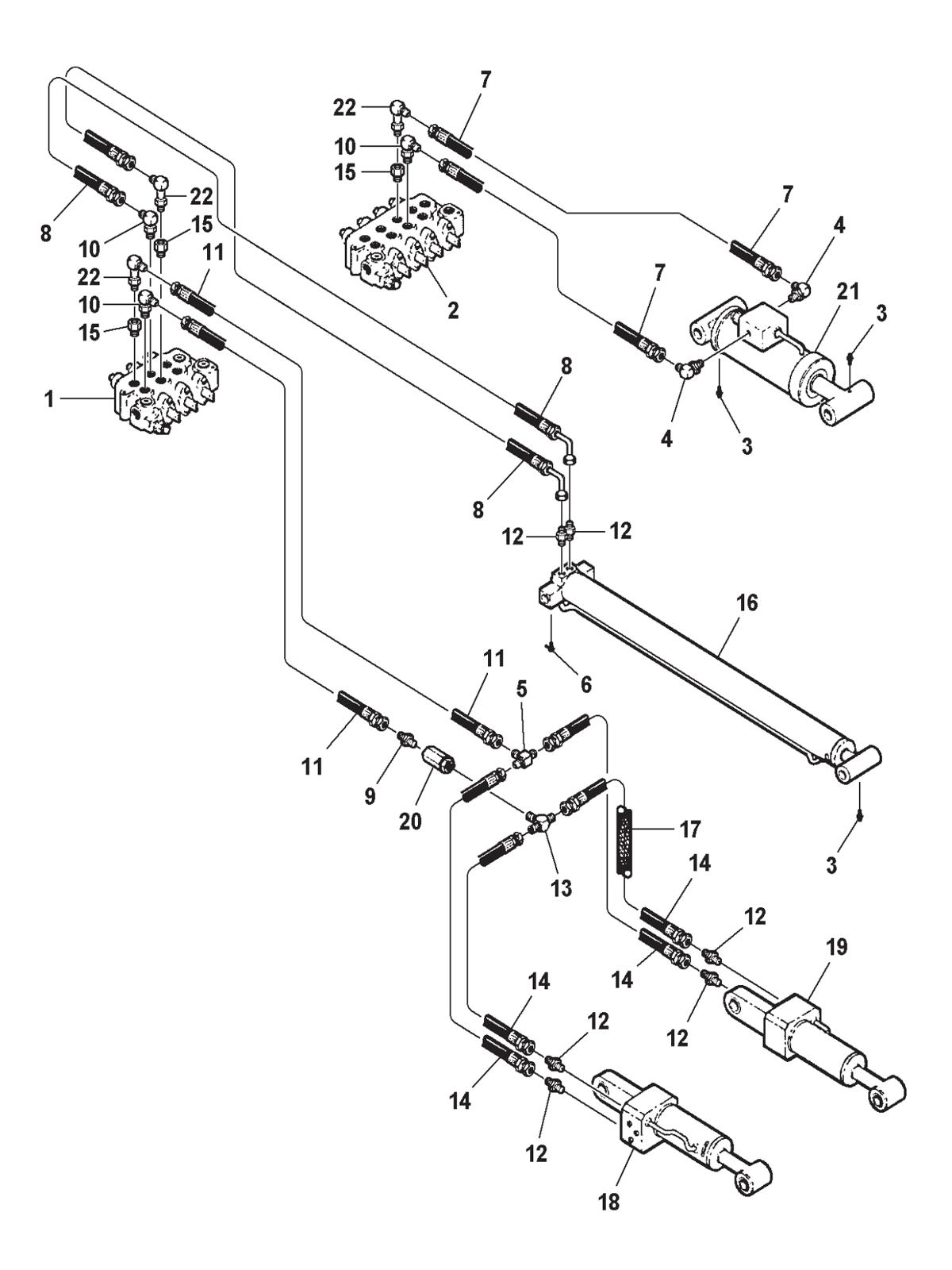 wrecker hydraulic wiring diagram