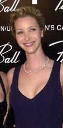 Lisa Kudrow low cut long neck
