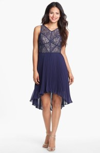Max and Cleo High Low Wedding Guest Dress
