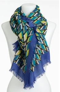 Nordstrom Graphic Print Wool Scarf