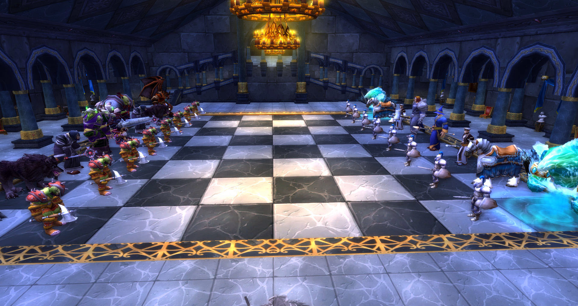 Chest Game Set Soloing The Chess Event In Karazhan Z Is For Zeirah