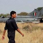 Indian Air Force's MiG 21 crash-lands at Srinagar Airport