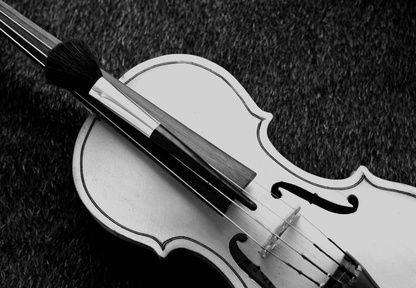 Tekturowe skrzypce
