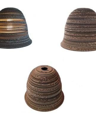 ABAŻUR 1 33 - lampa z kartonu
