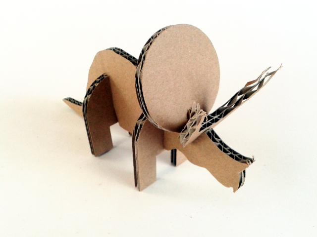 Kartonowe dinozaury - 3/ Cardboard dinosaurs - 3