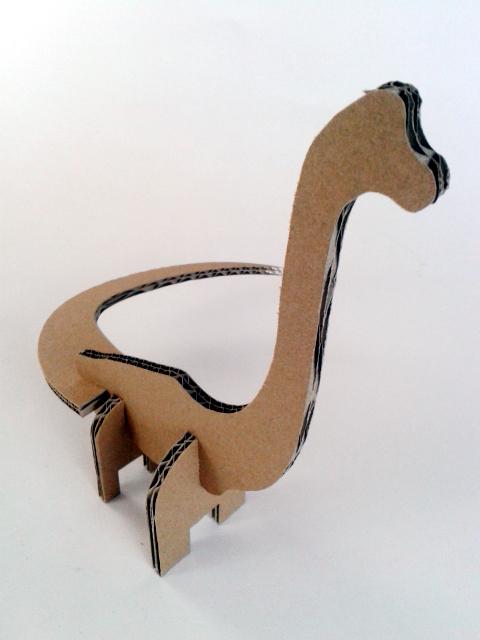 Kartonowe dinozaury - 4/ Cardboard dinosaurs - 4