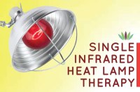 Single Infrared Bulb Heat Lamp Therapy - Myersdetox.com