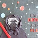 Kylo Ren Birthday Cake