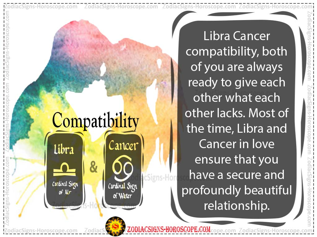 Cancer Libra Libra And Cancer Compatibility Love Life Trust And Sex