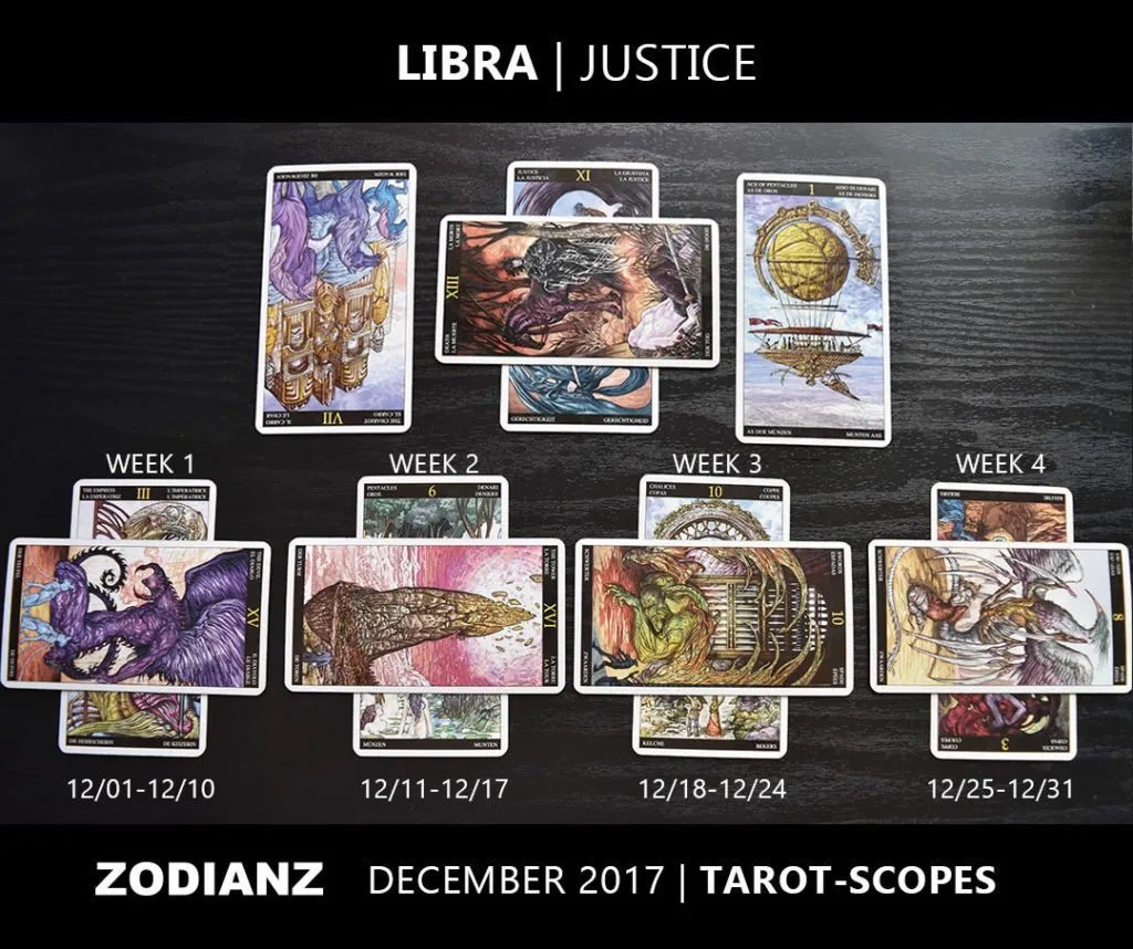 Tarot Gratis Libra December 2017 Zodiac Tarot Scopes By Joan Zodianz