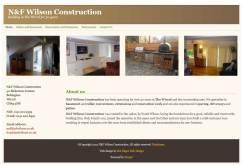 N&F Wilson Construction Screenshot
