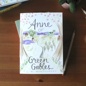 Anne of Green Gables notebook Zoeprose literary gift