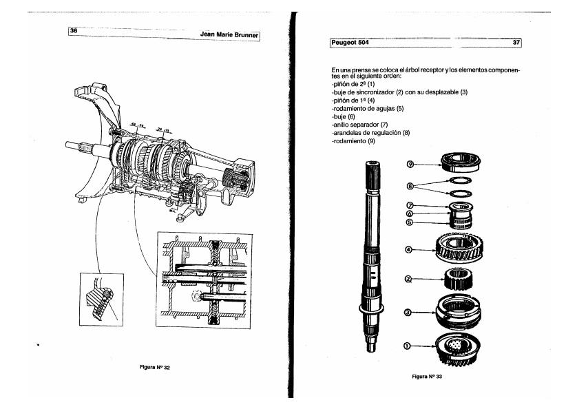 peugeot 504 wiring diagram