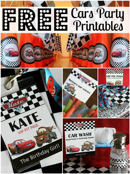 20 Disney Pixars Cars Party Ideas - Pretty My Party - Party Ideas