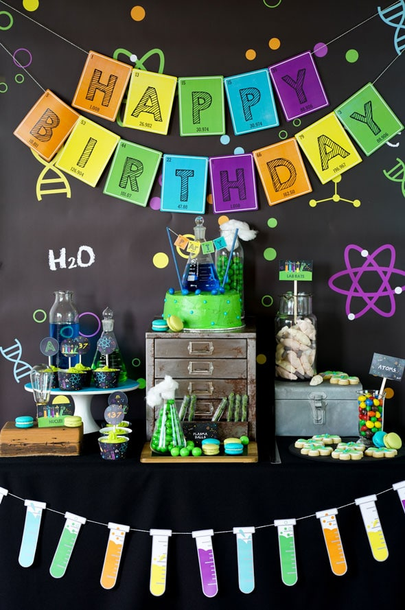 24 Insane Mad Scientist Party Ideas - Pretty My Party - Party Ideas