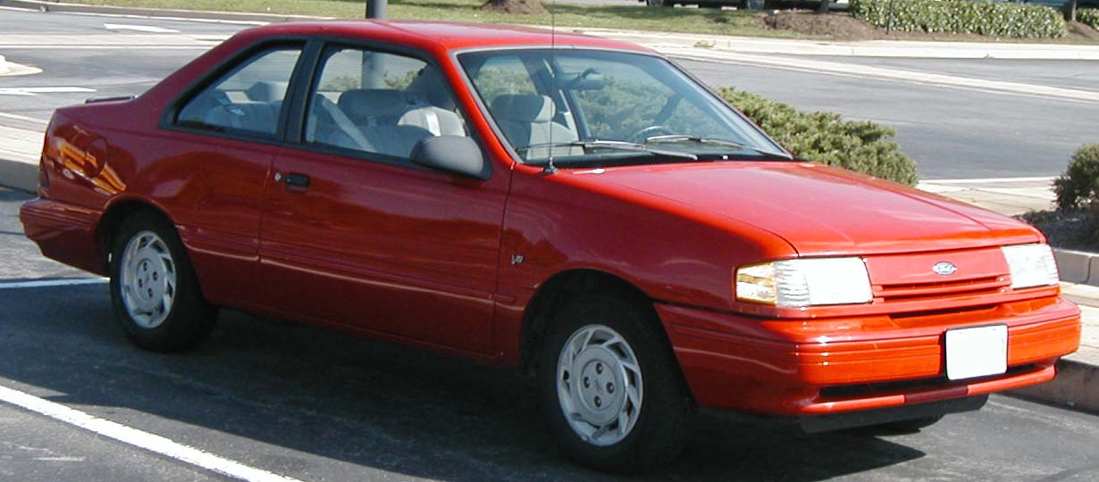 1992 Ford Tempo - Information and photos - ZombieDrive