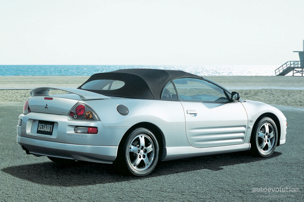 2005 Mitsubishi Eclipse Spyder - Information and photos - ZombieDrive