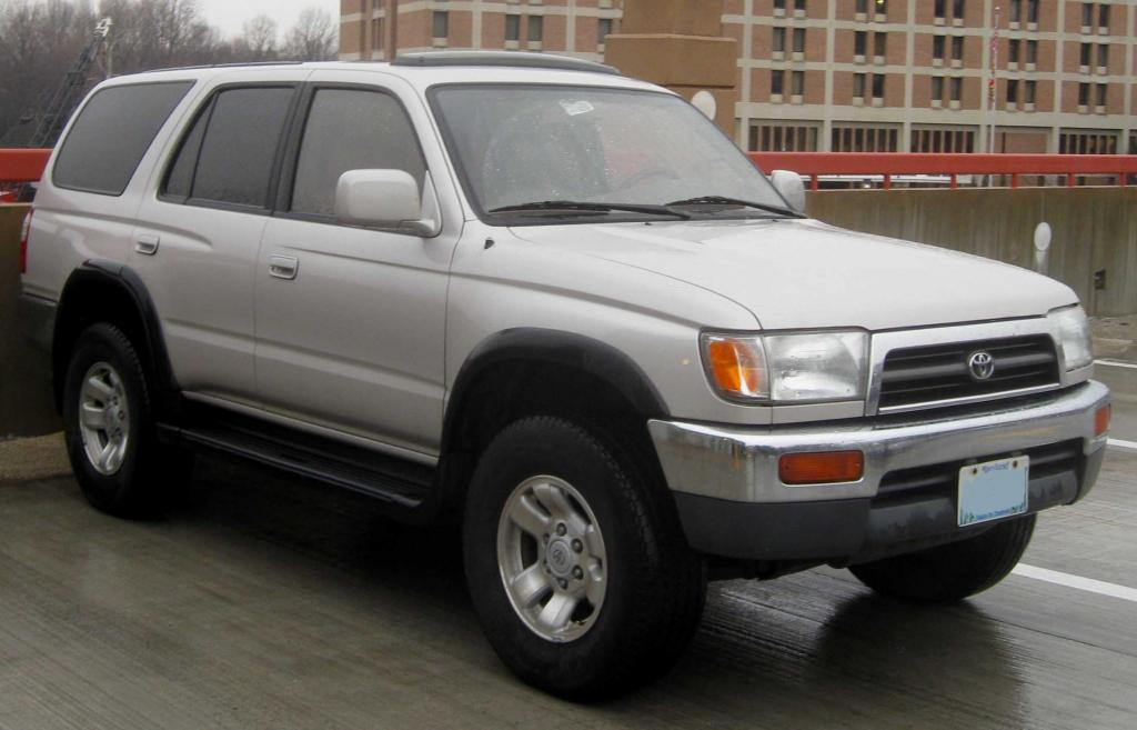 1996 Toyota 4Runner - Information and photos - ZombieDrive