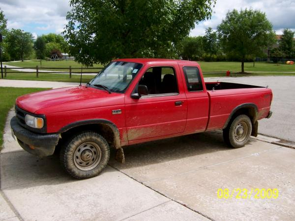 1998 Mazda B-Series Pickup - Information and photos - ZombieDrive