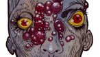Zombie Art : Growths of Gore! - Zombie Art by Rob Sacchetto