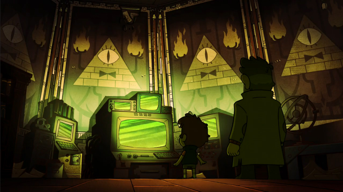 Gravity Falls Computer Wallpaper Gravity Falls Disneys Pyramidenwunderland Zombiewood
