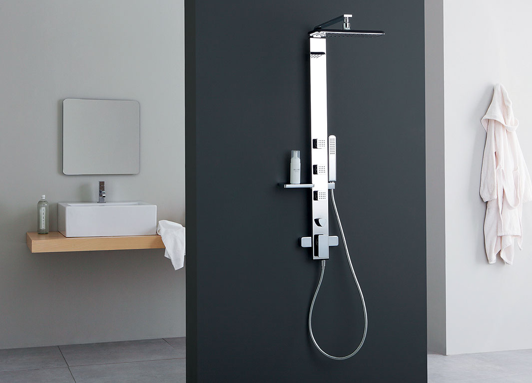 Colonna doccia prezzo colonna doccia termostatica design grohe
