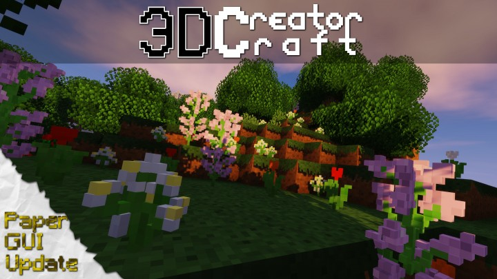 CreatorCraft 3D Texture Pack Para Minecraft 113X/112X/111X