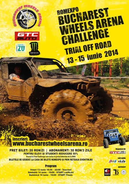 Bucharest Wheels Arena Challenge 2014