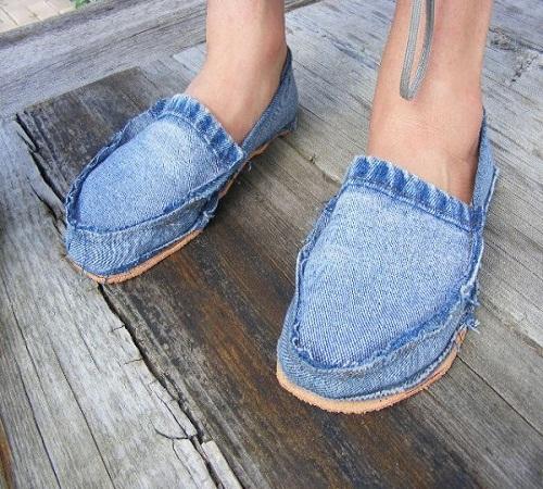 sepatu jeans bekas