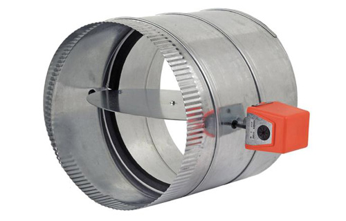 Rds Automatic Round Zone Damper Zonefirst